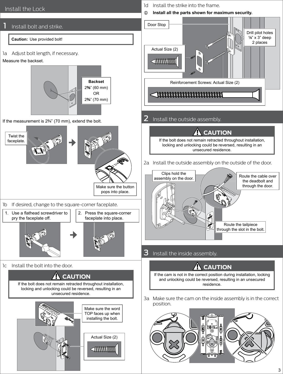 defiant electronic deadbolt installation instructions best electronics 2017. Black Bedroom Furniture Sets. Home Design Ideas