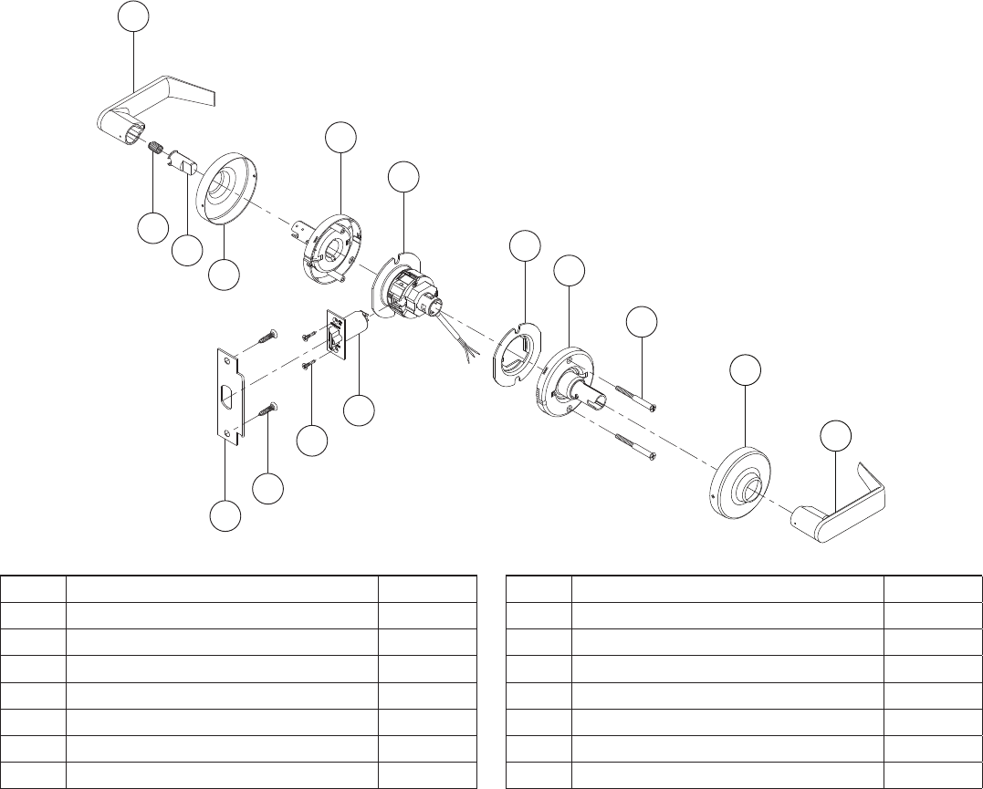 52 • Schlage • ND-Series service manual