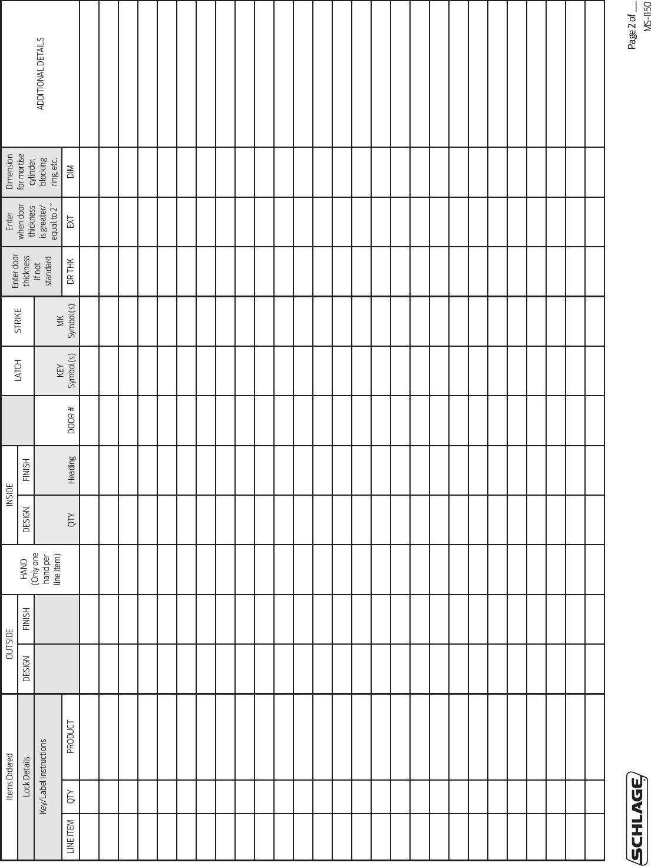 Zinc; Wrought Brass Or Bronze 2-3//4 Backset Schlage Lock Co LCC 626 Non Handed Satin Chrome Finish Schlage ND66PD-RHO-626 Grade 1 Store 2-3//4 Backset