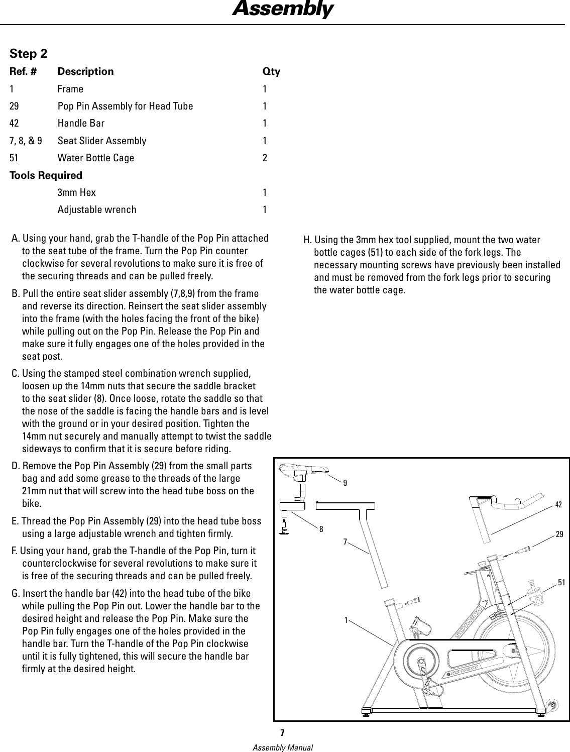 Schwinn Ic Elite Assembly Manual Manual Guide
