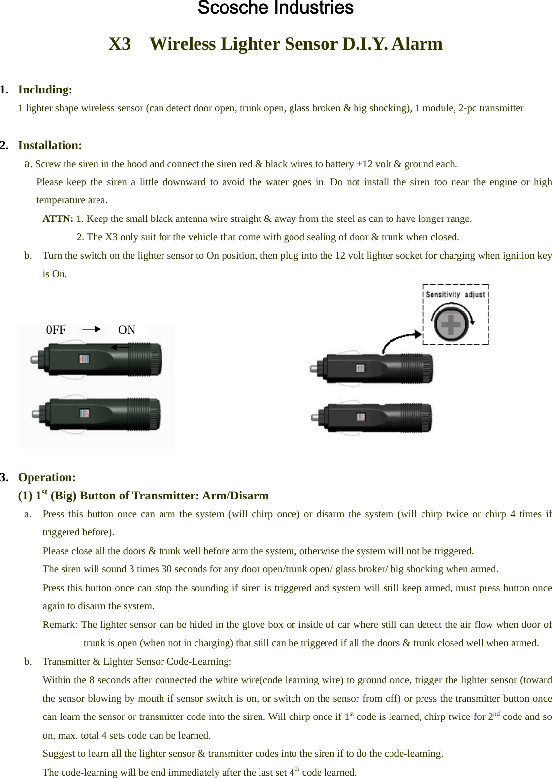Scosche diyalm2 do it yourself car alarm user manual manual solutioingenieria Image collections