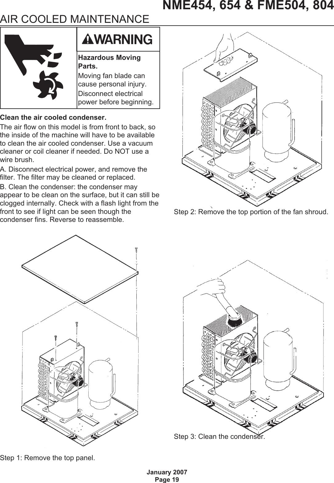 Scotsman Fme504 Users Manual Nfme654mn vp
