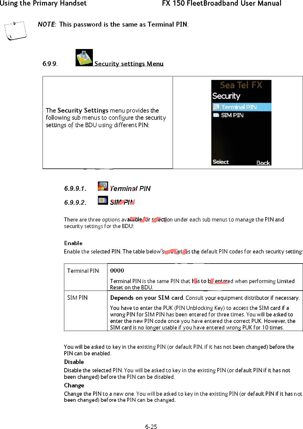 SeaTel STFX150BDE INMARSAT FLEETBROADBAND SYSTEM User Manual