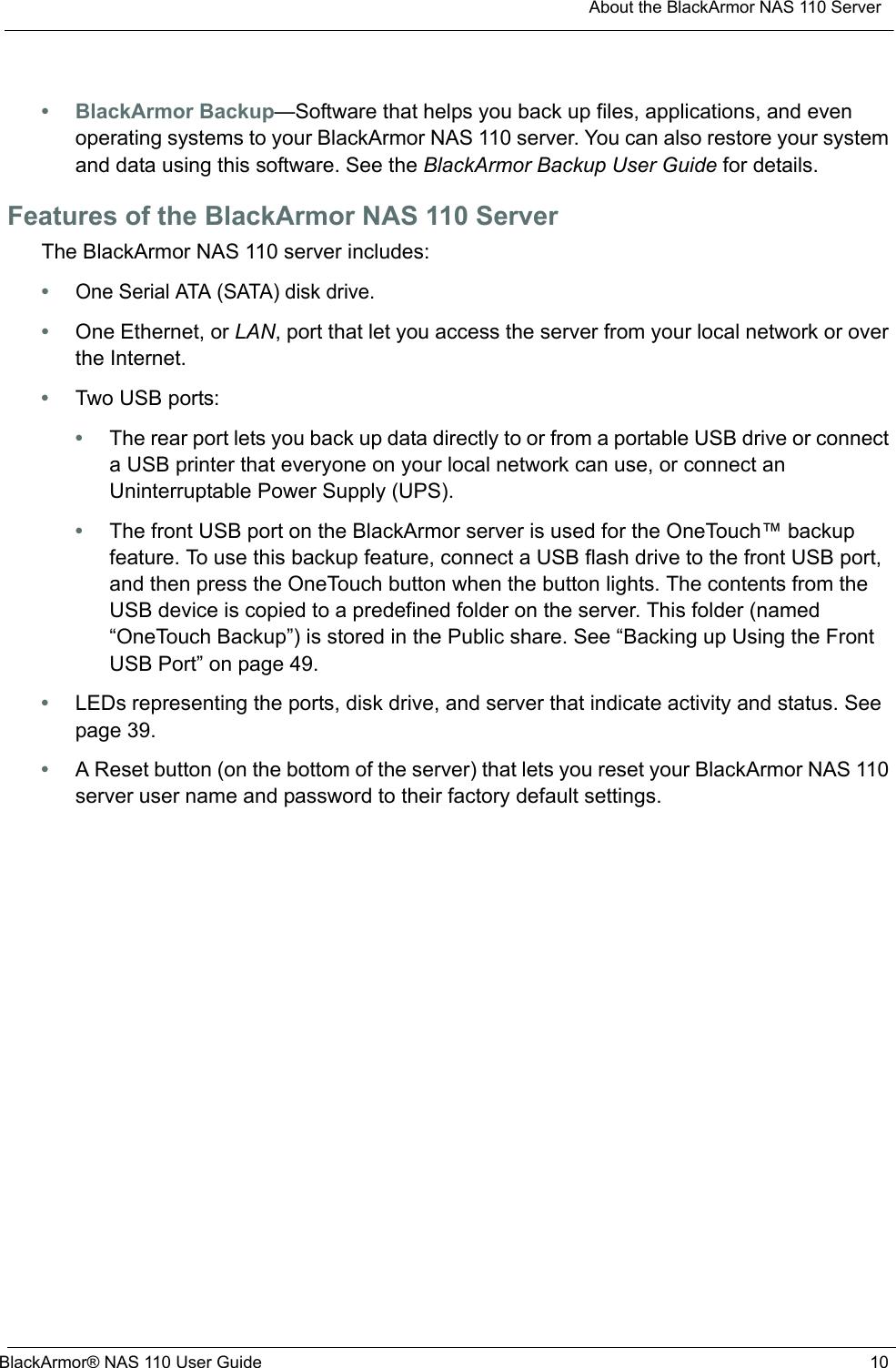 Seagate Blackarmor Nas 110 Users Manual ManualsLib Makes It