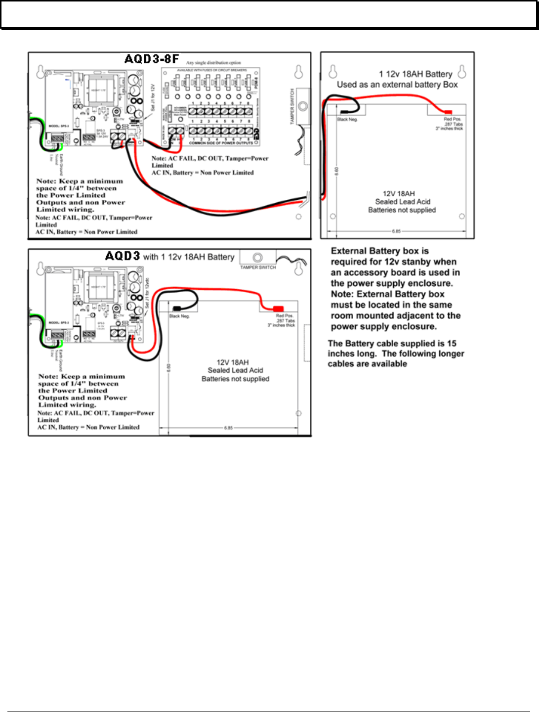 Securitron Aqd3 500 33000 A Installation Guide I Tamper Switch Wiring Diagram Series Continued