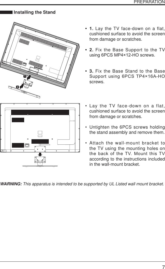 Seiki Se551Gs Users Manual