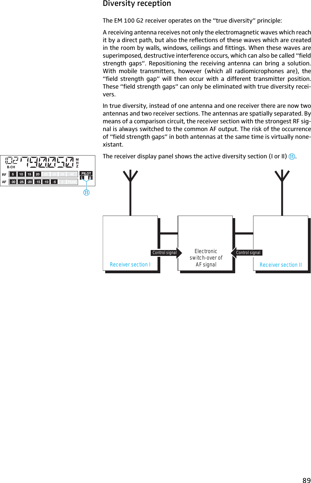 Sennheiser Ew 100 G2 Image 550712 Manual Guide