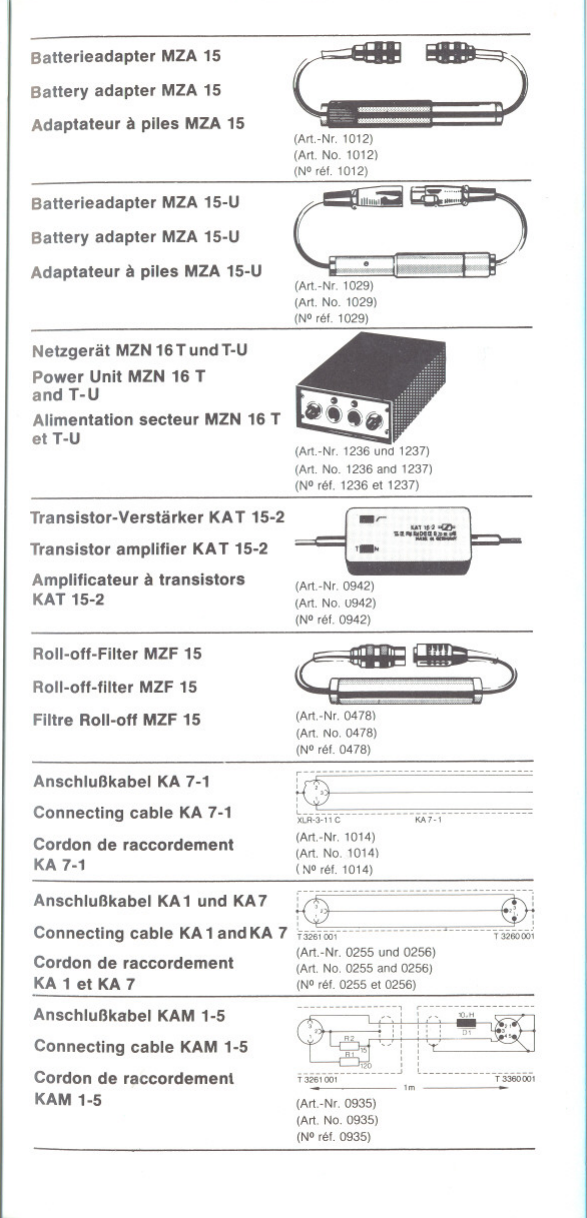 Sennheiser Mkh 416T Users Manual
