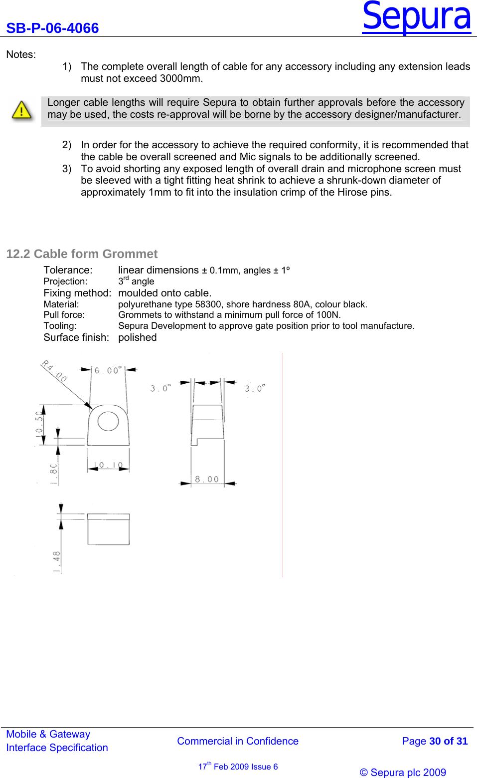 Sepura plc STP8040 TETRA Portable Terminal User Manual 3