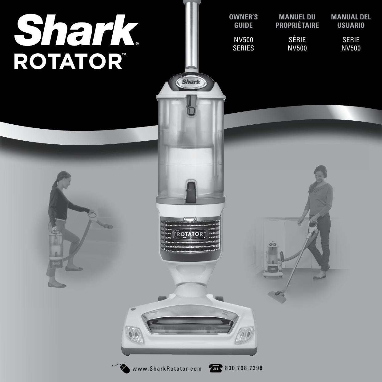 Shark Shark Rotator Professional Lift Away Manual Guide