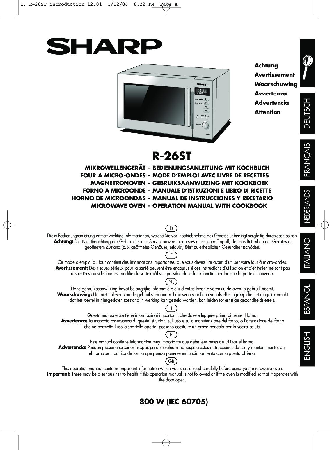 Glasteller für Sharp R-200 WW Mikrowelle