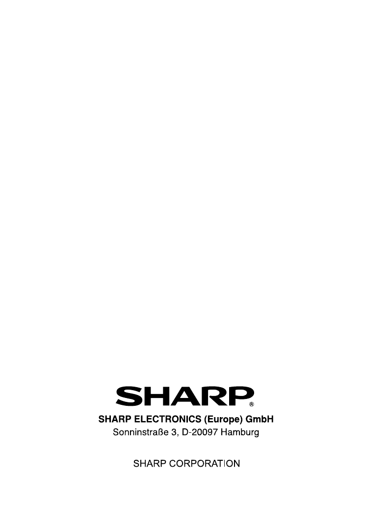 Sharp Micro Hi Fi System Dk Kp95P Users Manual KP95PH Operation GB
