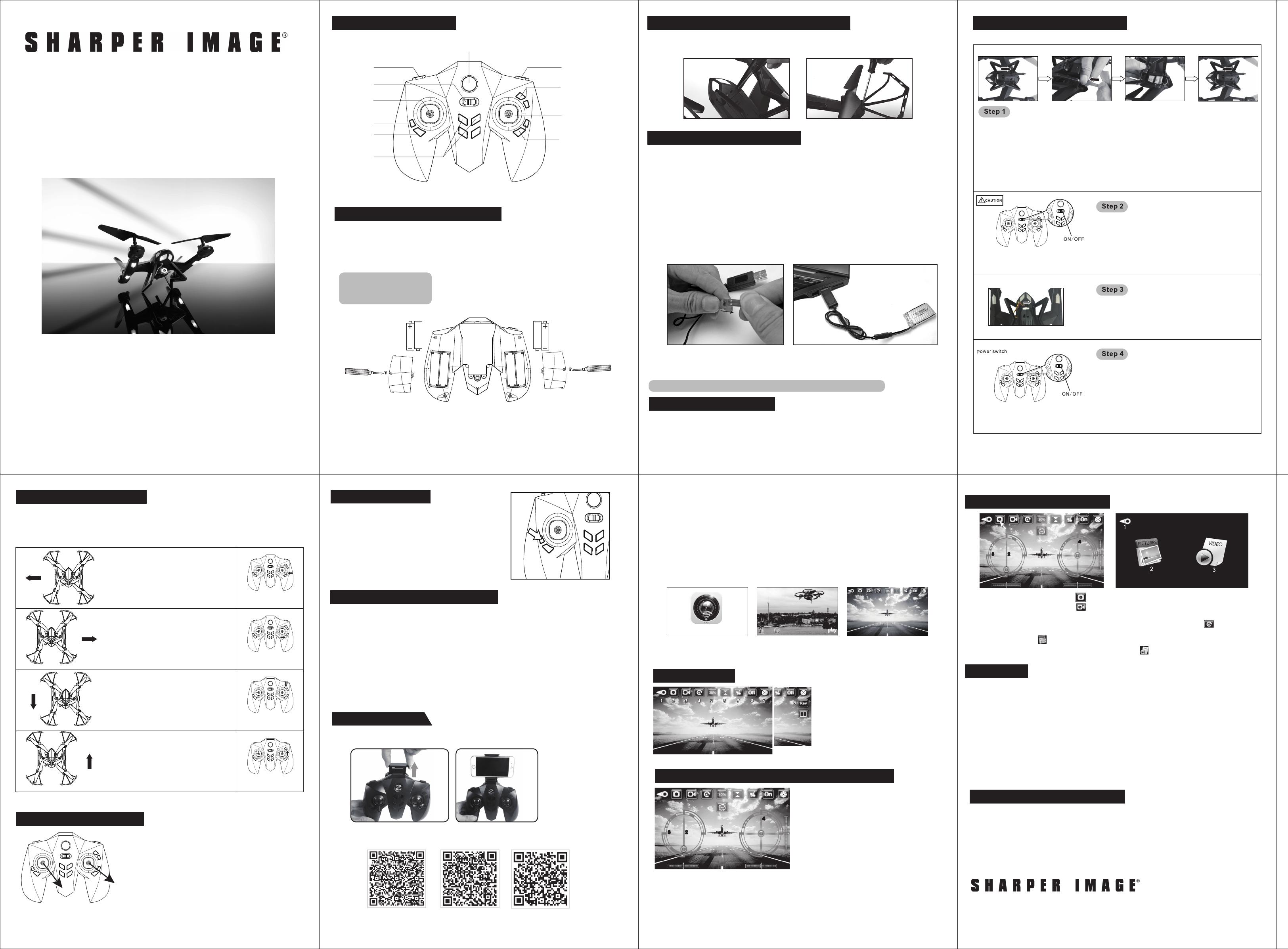 Sharper Image Qst1601 Manual 206089