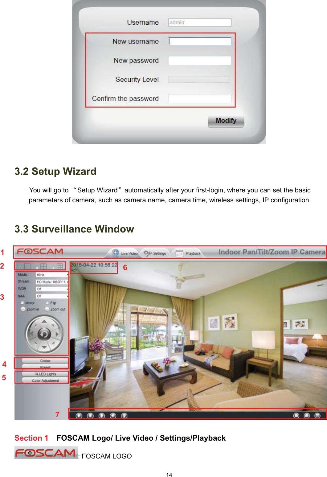 ShenZhen Foscam Intelligent Technology R2C FHD Wireless IP