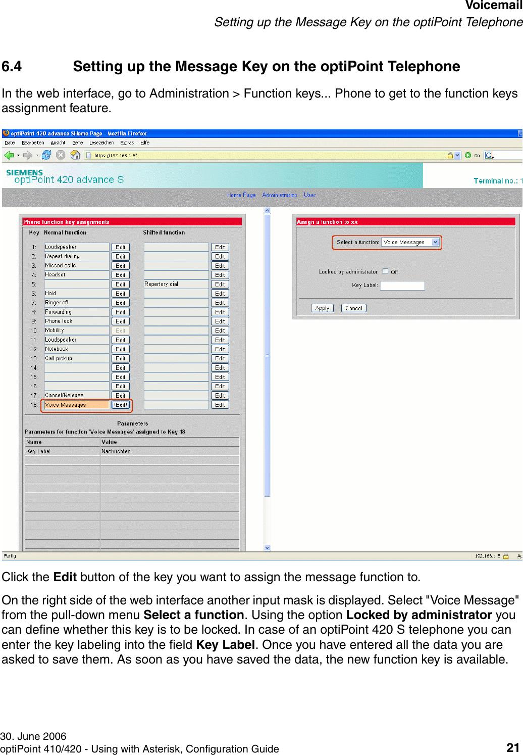 Siemens Hipath Optipoint 410 S Users Manual Bk