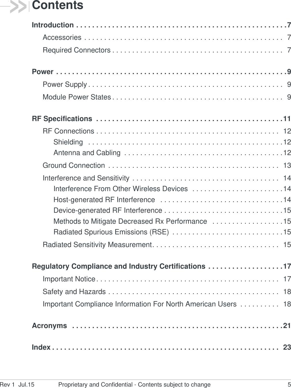 Sierra Wireless EM7455 Radio Module User Manual AirPrime