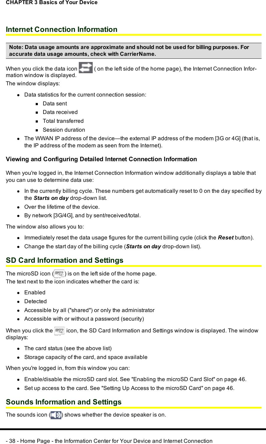Sierra Wireless MHS801 WiMAX + WiFi Router User Manual User