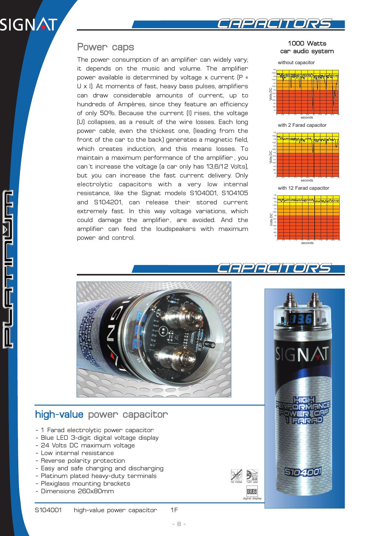 Signat Platinum S104001 Users Manual