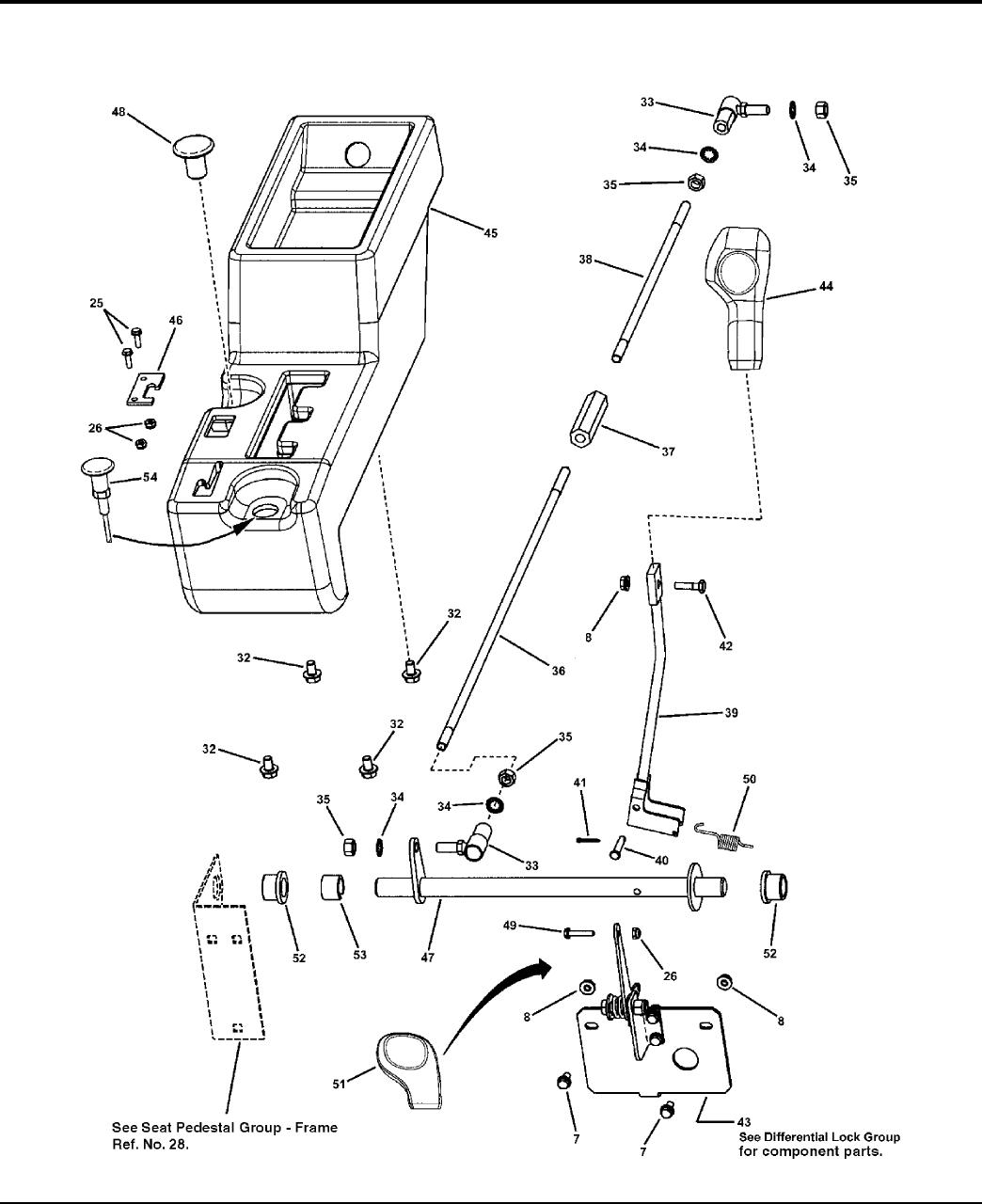 simplicity 85632 parts manual turf trail cruiser Wiring Mess seat pedestal group controls