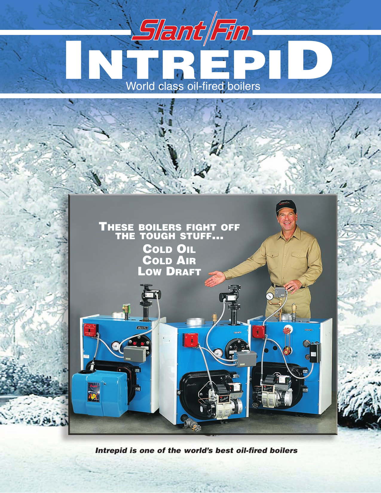 Slant Fin Intrepid Oil Fired Boilers Users Manual 2004 8 Revise