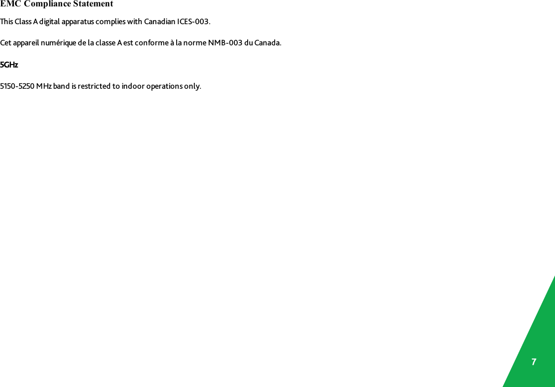 SmartRG SR555A 802 11ac VDSL2 Bonding IAD User Manual
