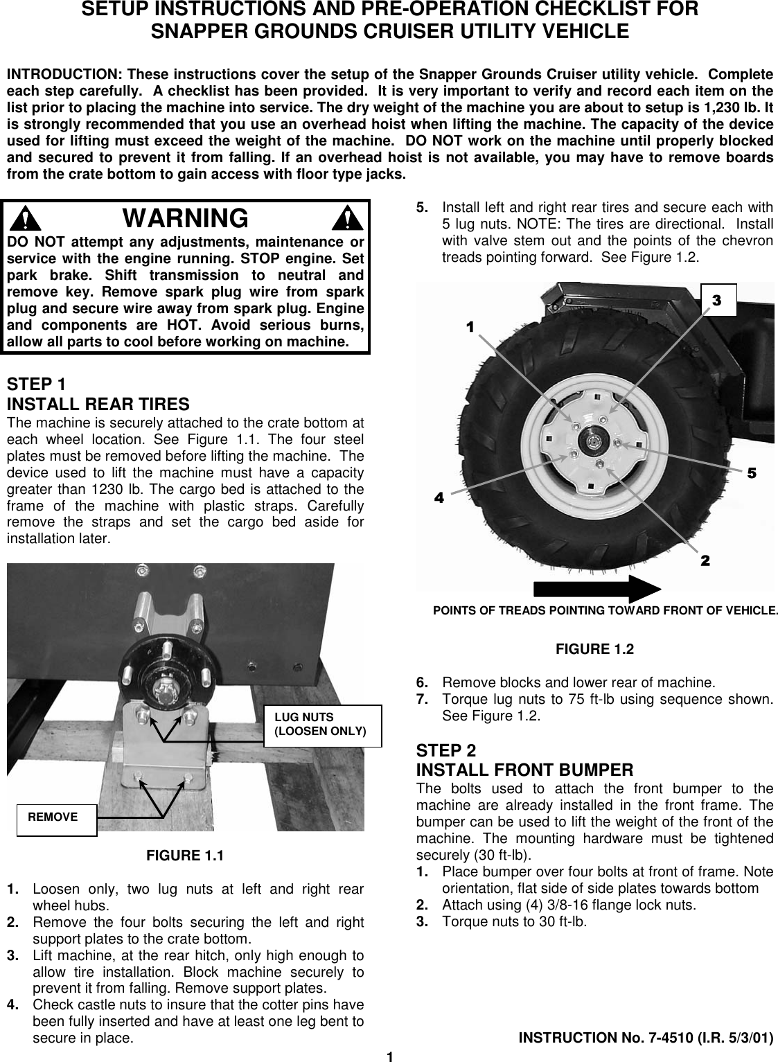 Curt 58291 Vehicle Manual Guide