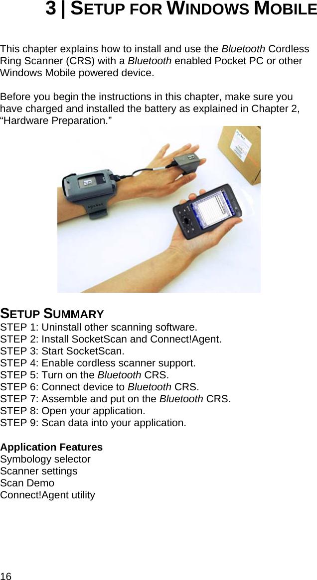 Socket Mobile CRS002 Cordless Ring Scanner User Manual crs