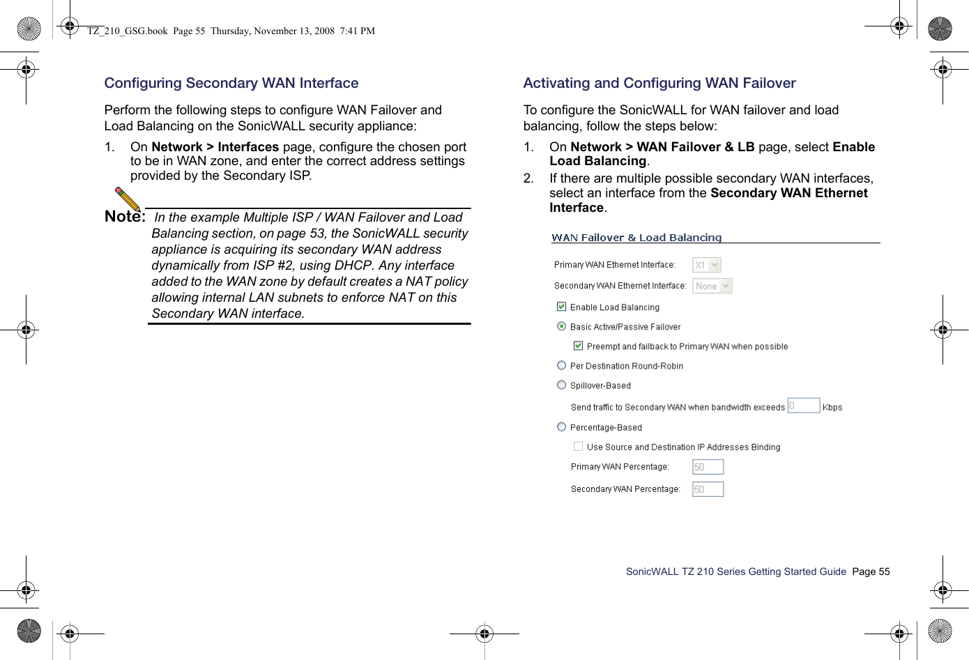 Sonicwall 06C 802 11b/g/n Router User Manual SonicWALL TZ