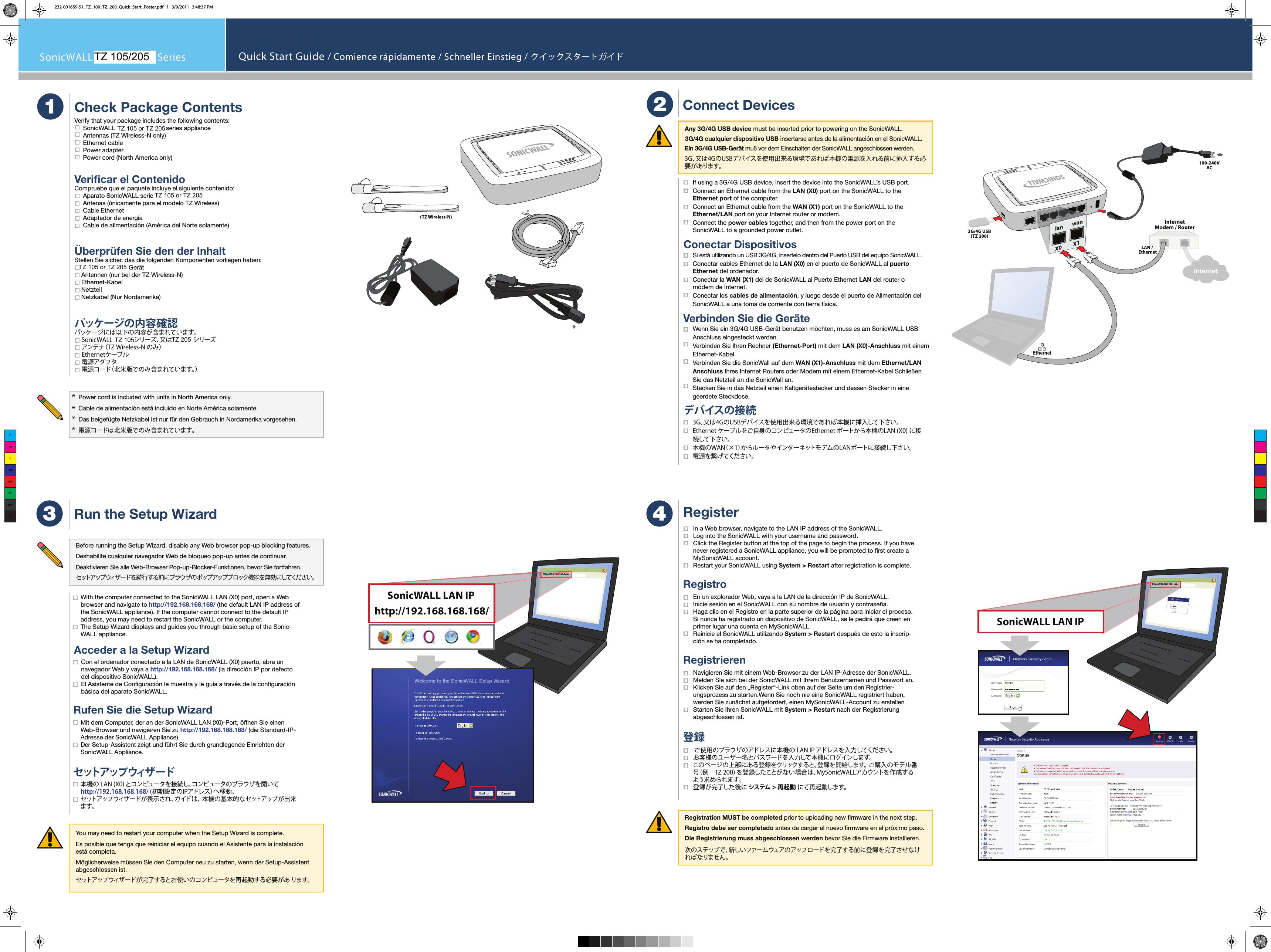 Sonicwall 09E Wireless 802 11 abgn Device User Manual