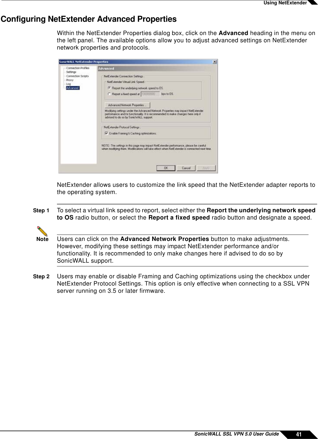 Sonicwall Network Router Ssl Vpn 5 0 Users Manual 5 0 User's Guide