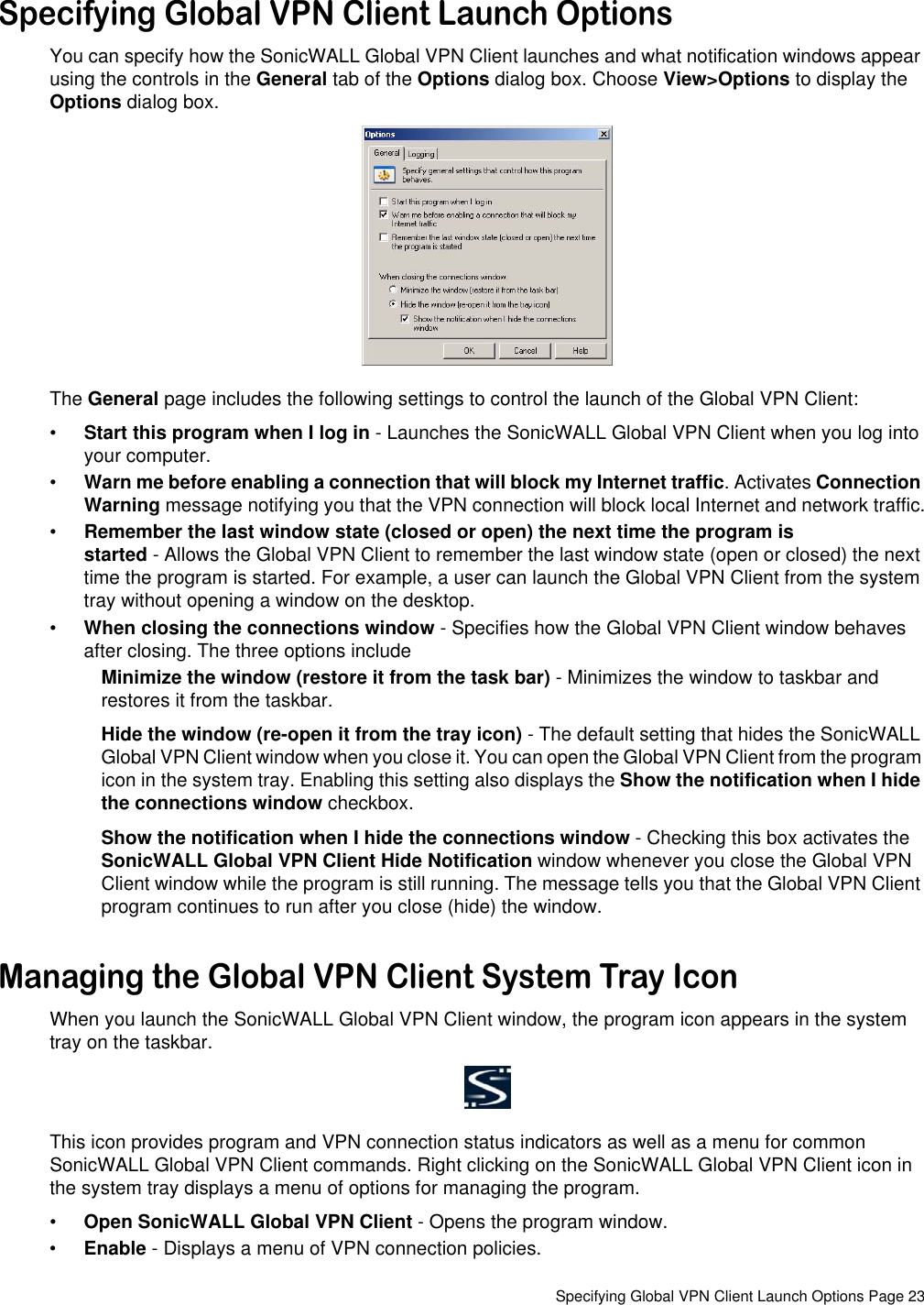 Sonicwall Users Manual Global VPN Client 4 0 Administrator's Guide