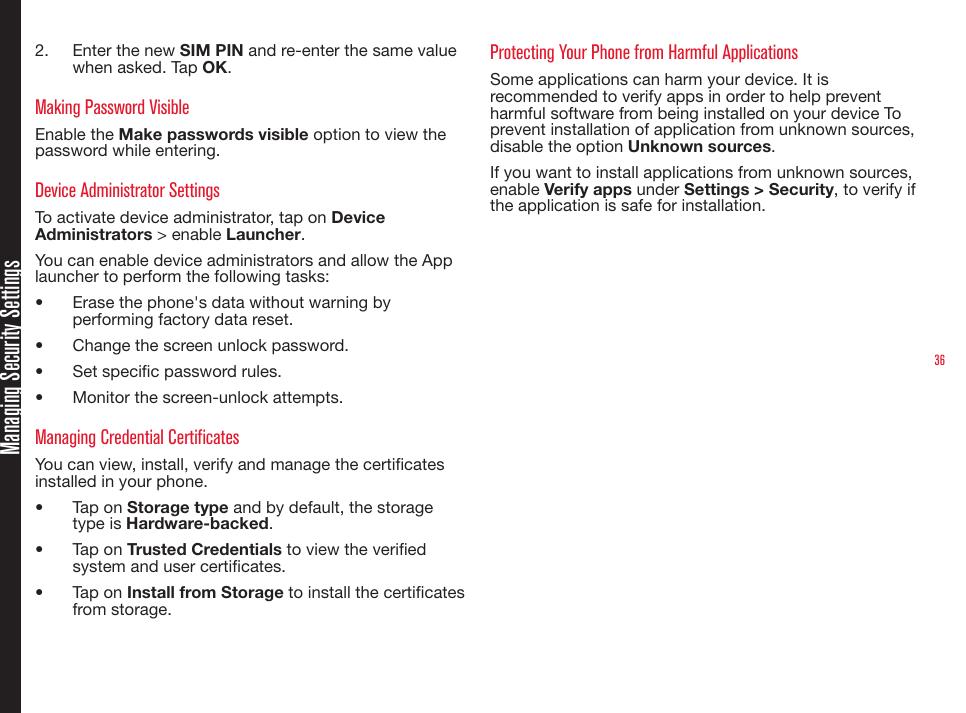 Sonim Technologies PG4032 Mobile Phone User Manual