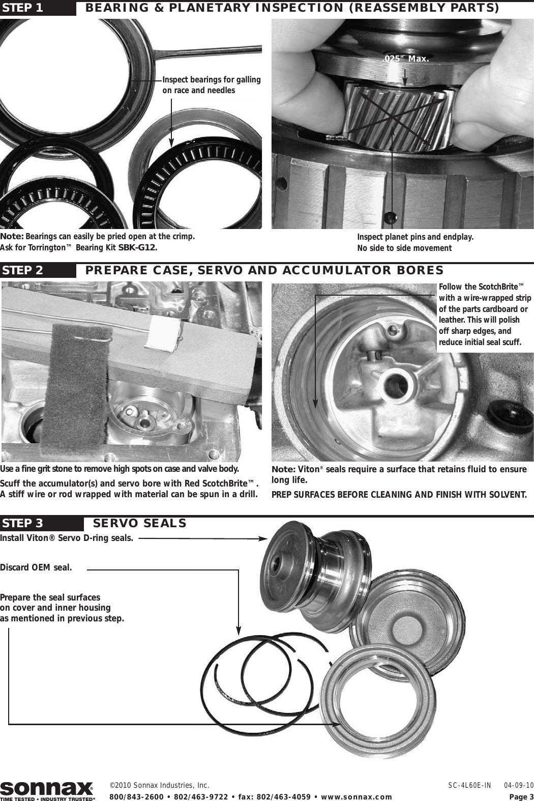 Basement 4l60e Buildup Photos Page 3 Manual Guide