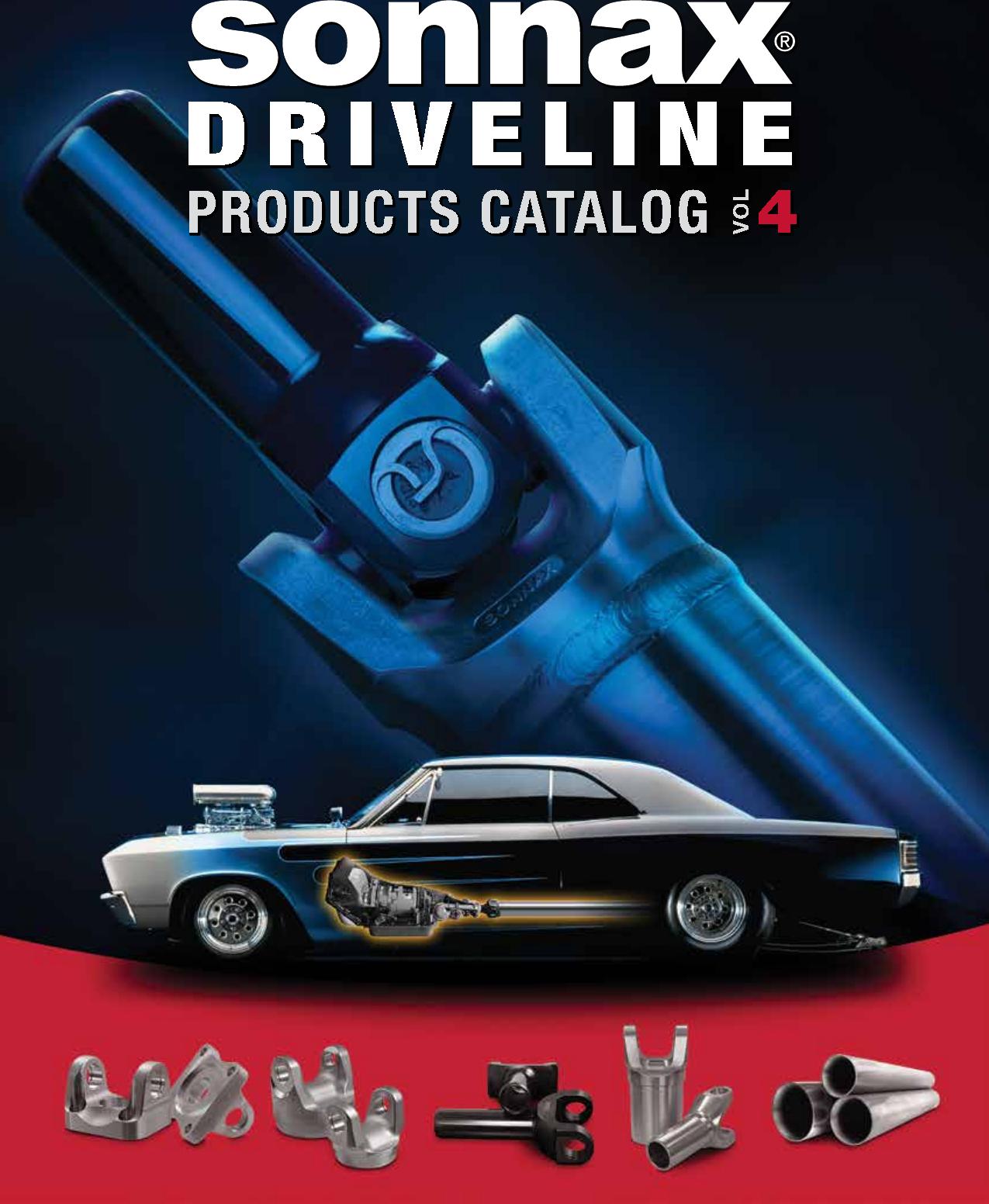 Sonnax Driveline Catalog V4