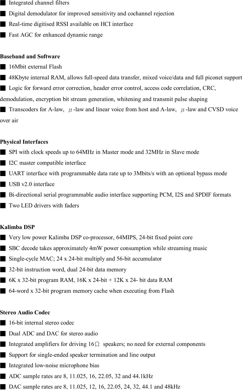 Sony BTMS3 Bluetooth Module User Manual CJ