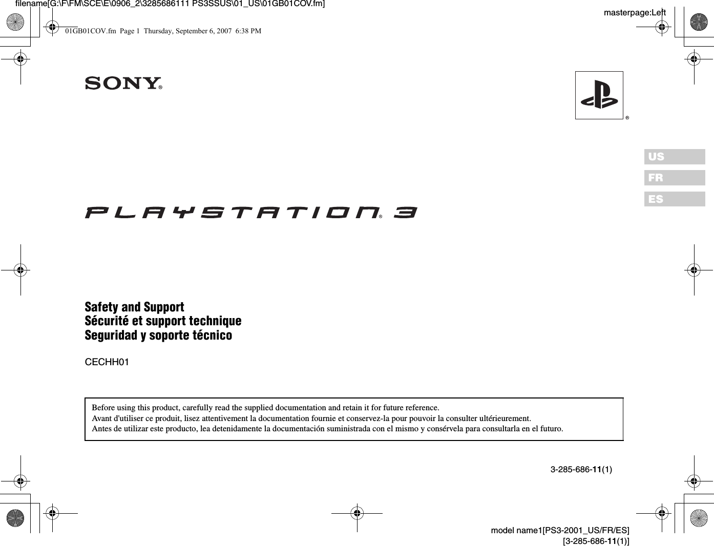 sony cbeh1300 playstation 3 user manual playstation 3 rh usermanual wiki Sony PS2 PlayStation 2 Manual PlayStation 1 Instruction Manual
