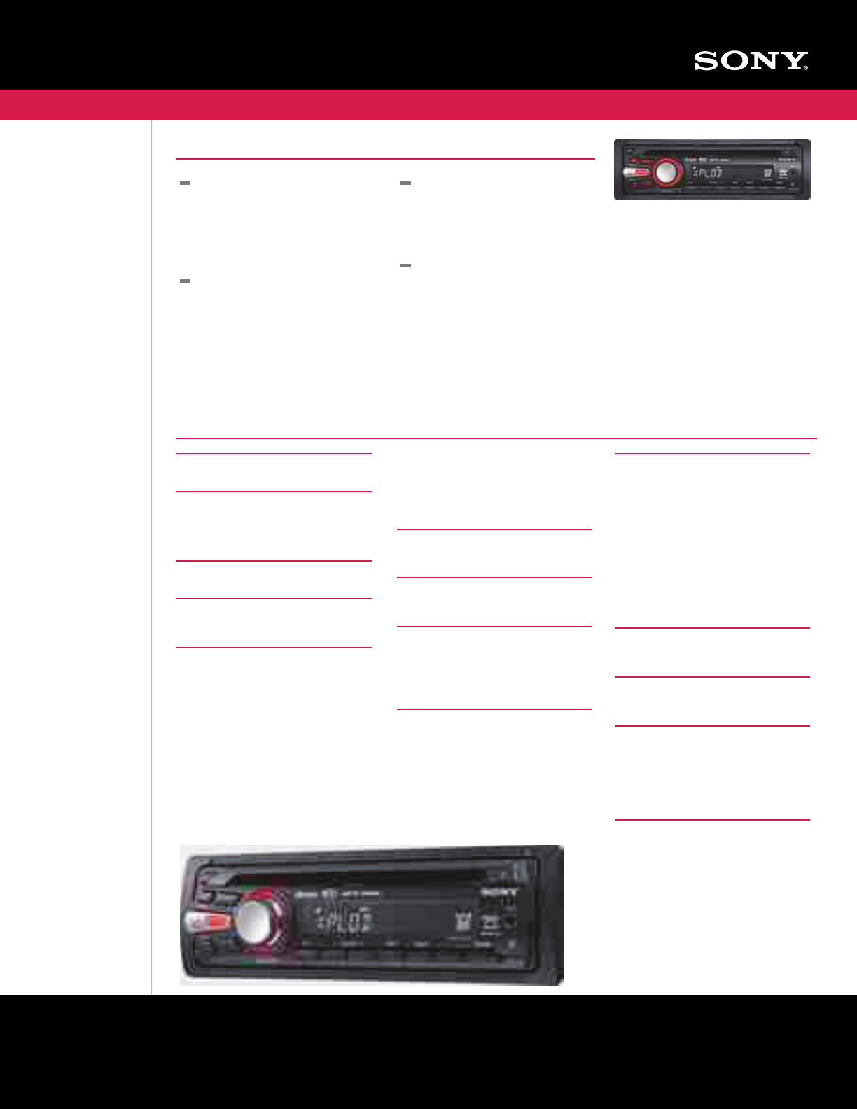 Sony Xplod Cdx Gt330 Wiring Diagram