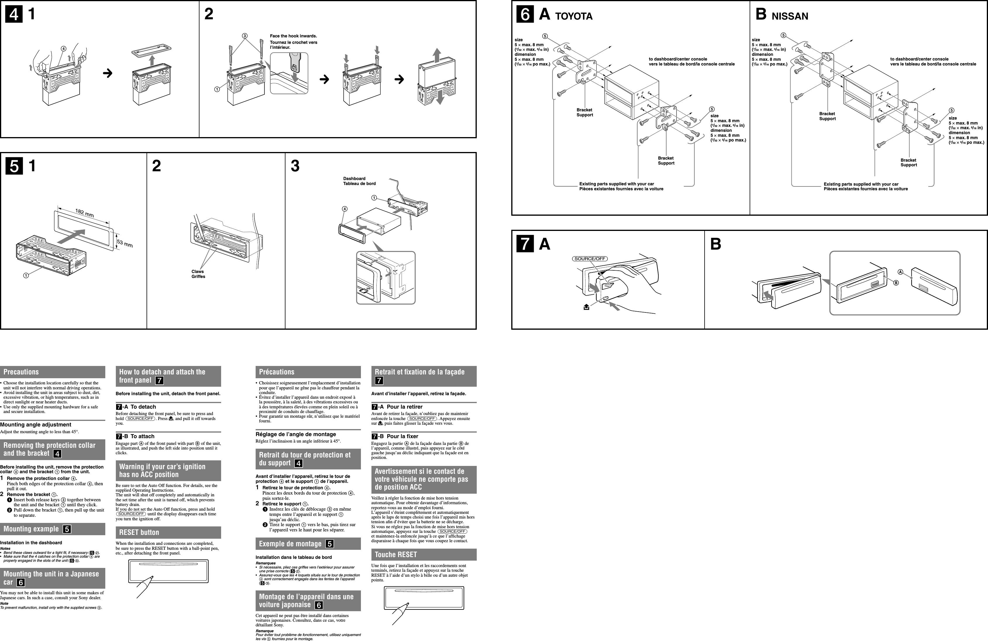 sony cdx gt540ui user manual installation connections cdxgt540ui Sony Cdx-Gt420u Wiring Diagram