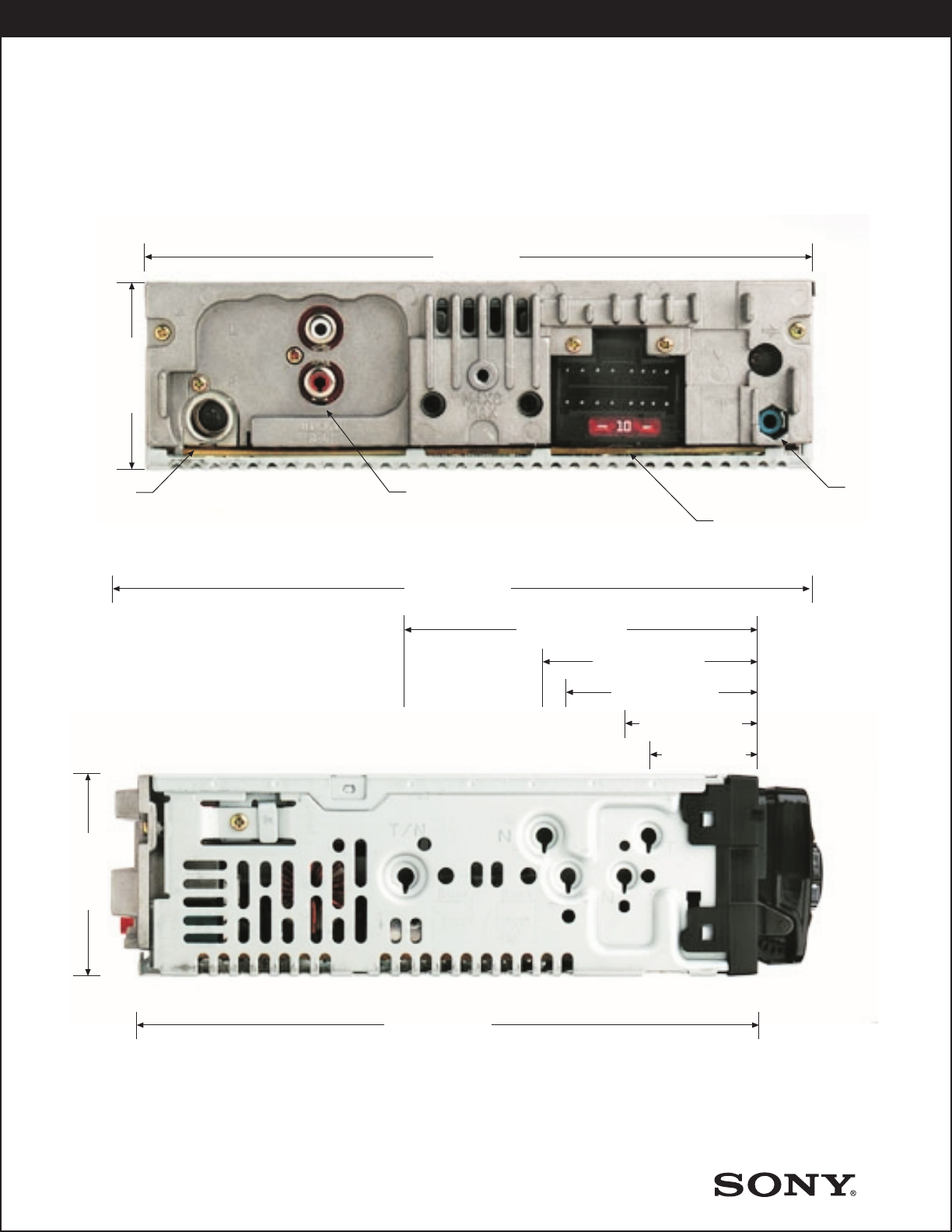 Sony CDX L600X User Manual Product Guide / Specifications Spec SheetUserManual.wiki