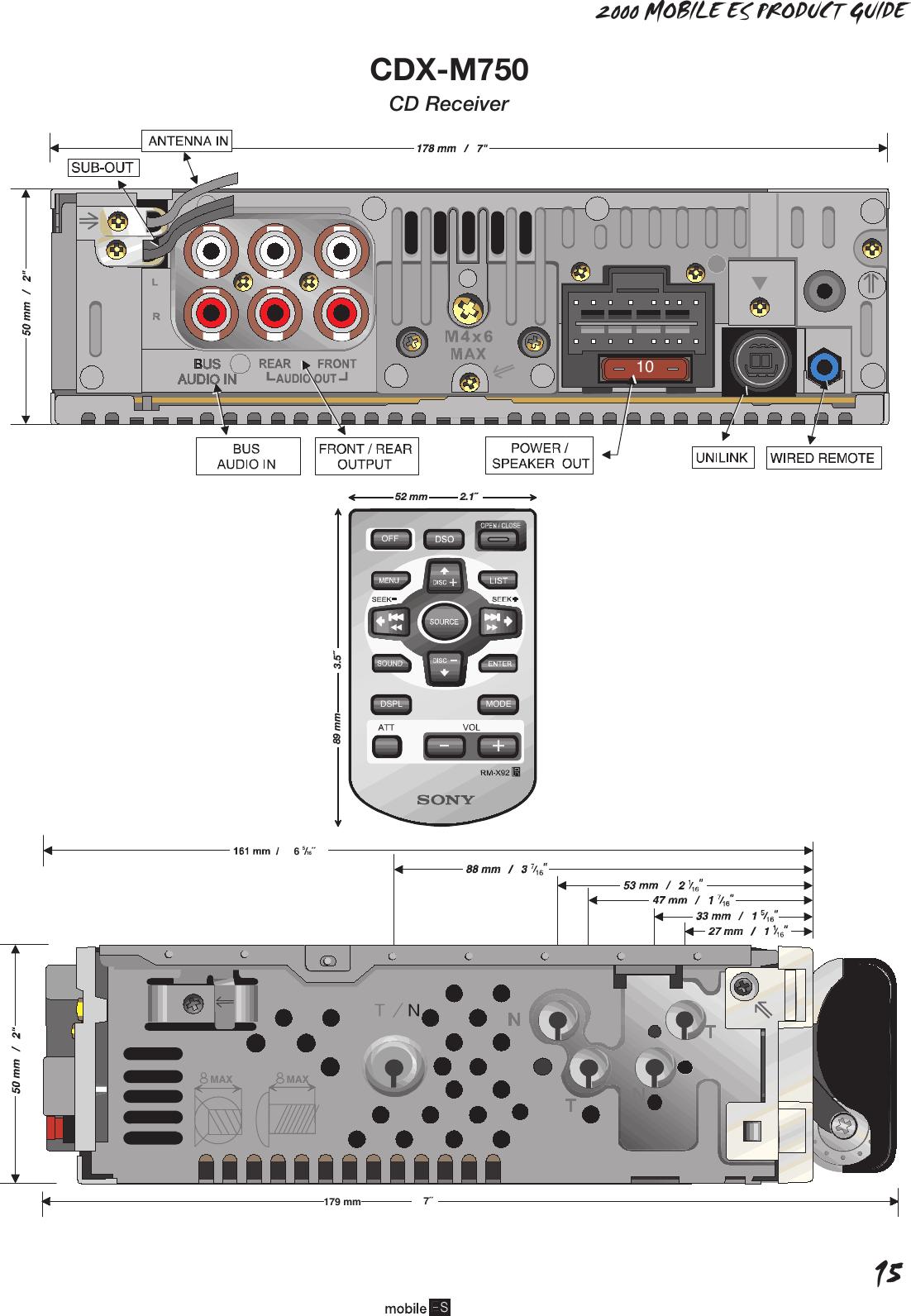 Fantastic Sony Mex N4000bt Wiring Diagram Gallery - Electrical and ...