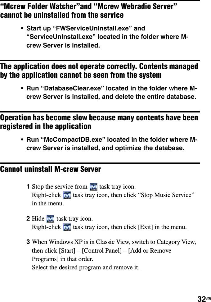 Sony Cpf Ix001 M Crew Server Ver 20 User Manual