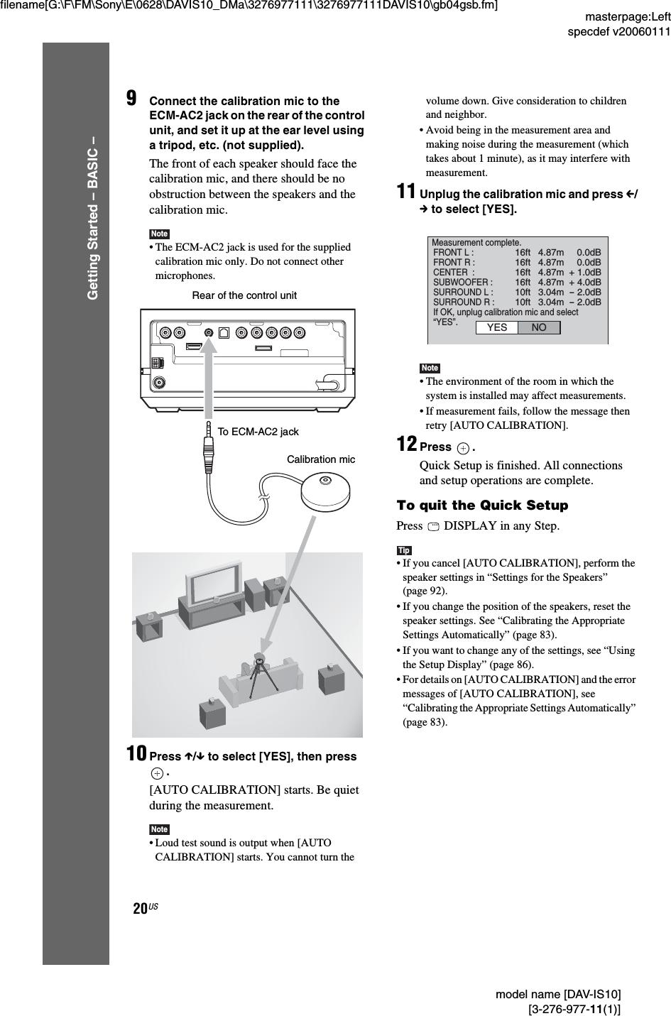 Sony DAV IS10 User Manual Operating Instructions DAVIS10