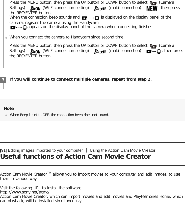 Sony HDR AS50R User Manual Help Guide (Printable PDF) 4585327125