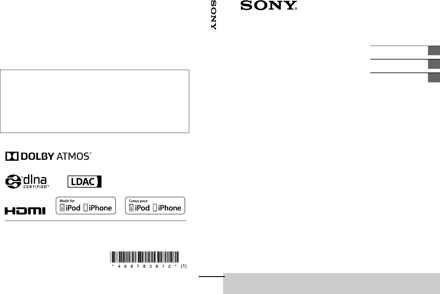 Sony HT ST40 User Manual Operating Instructions Large File ...