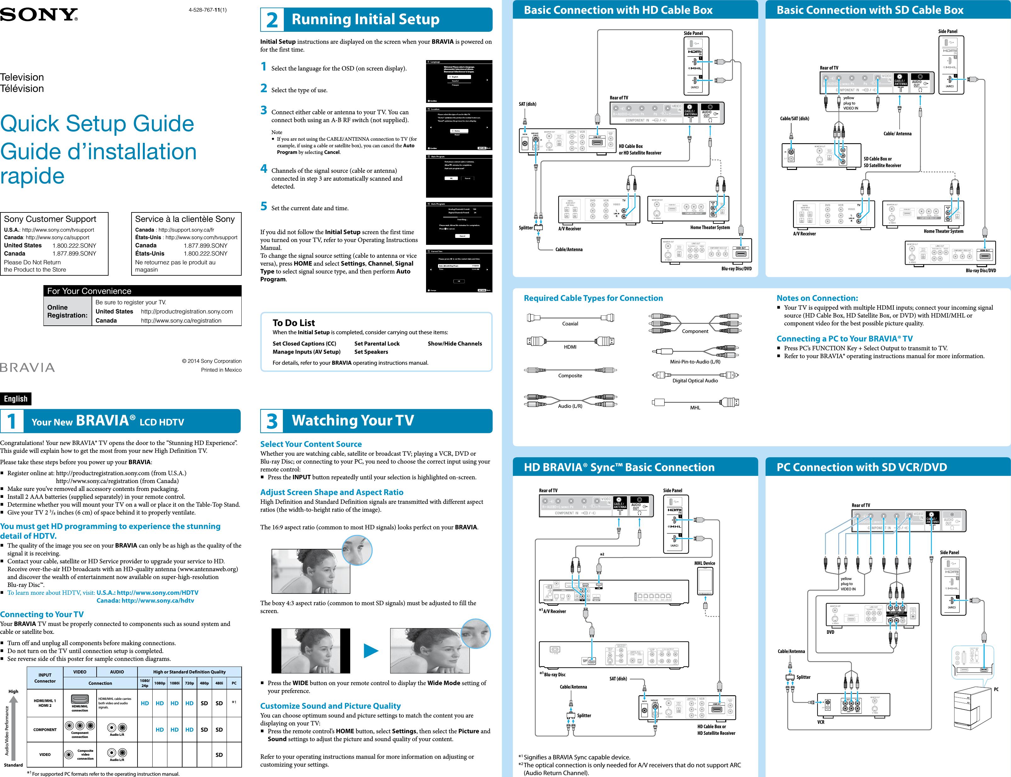 sony kdl 32r420b 48r470b 40r470b user manual quick setup guide rh usermanual wiki sony tv quick setup guide Microsoft Quick Guide