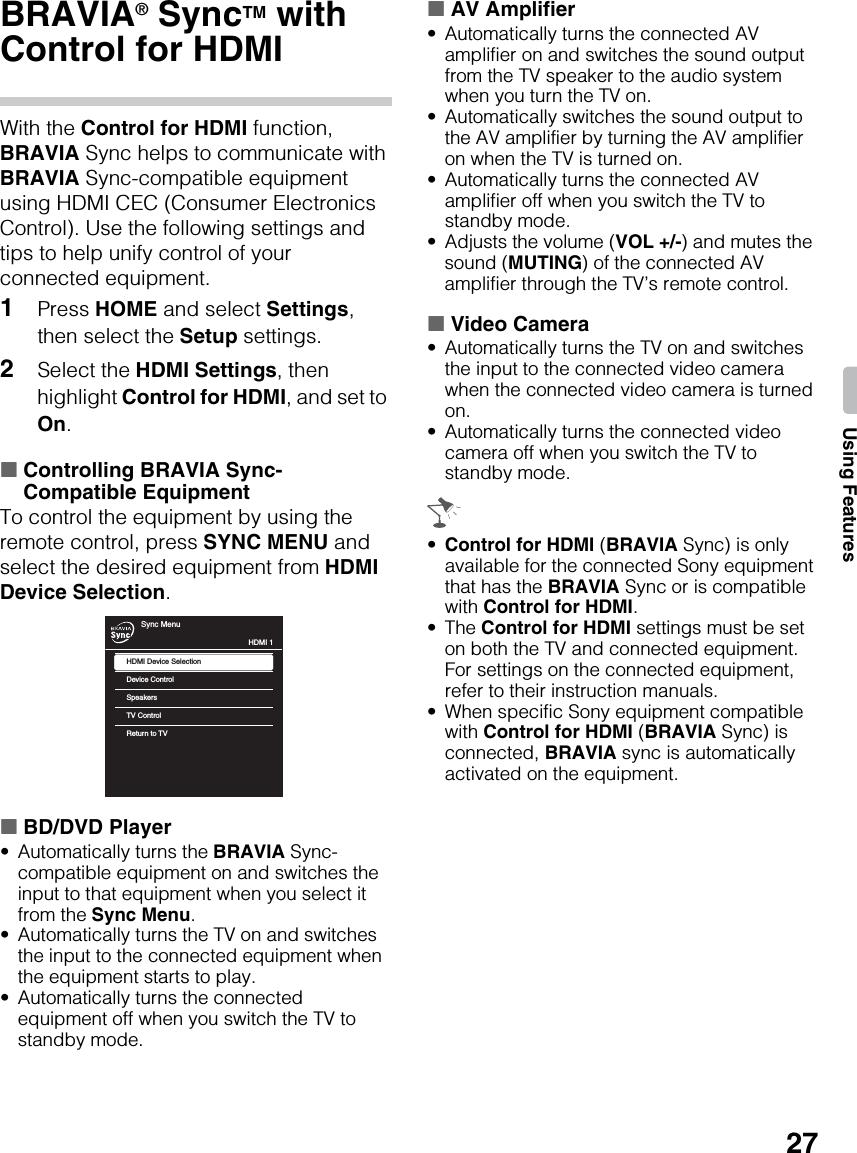 Sony KDL 40BX450 46BX451 / 46BX450 40BX451 User Manual