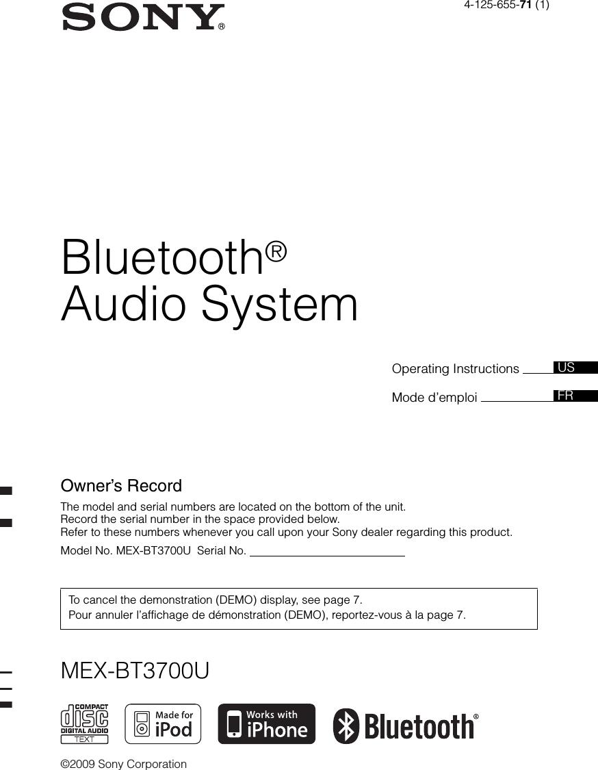 Car Stereo Sony Mex Bt3700u Wiring Diagram Schematics Diagrams Orion Schematic Cdx Gt120