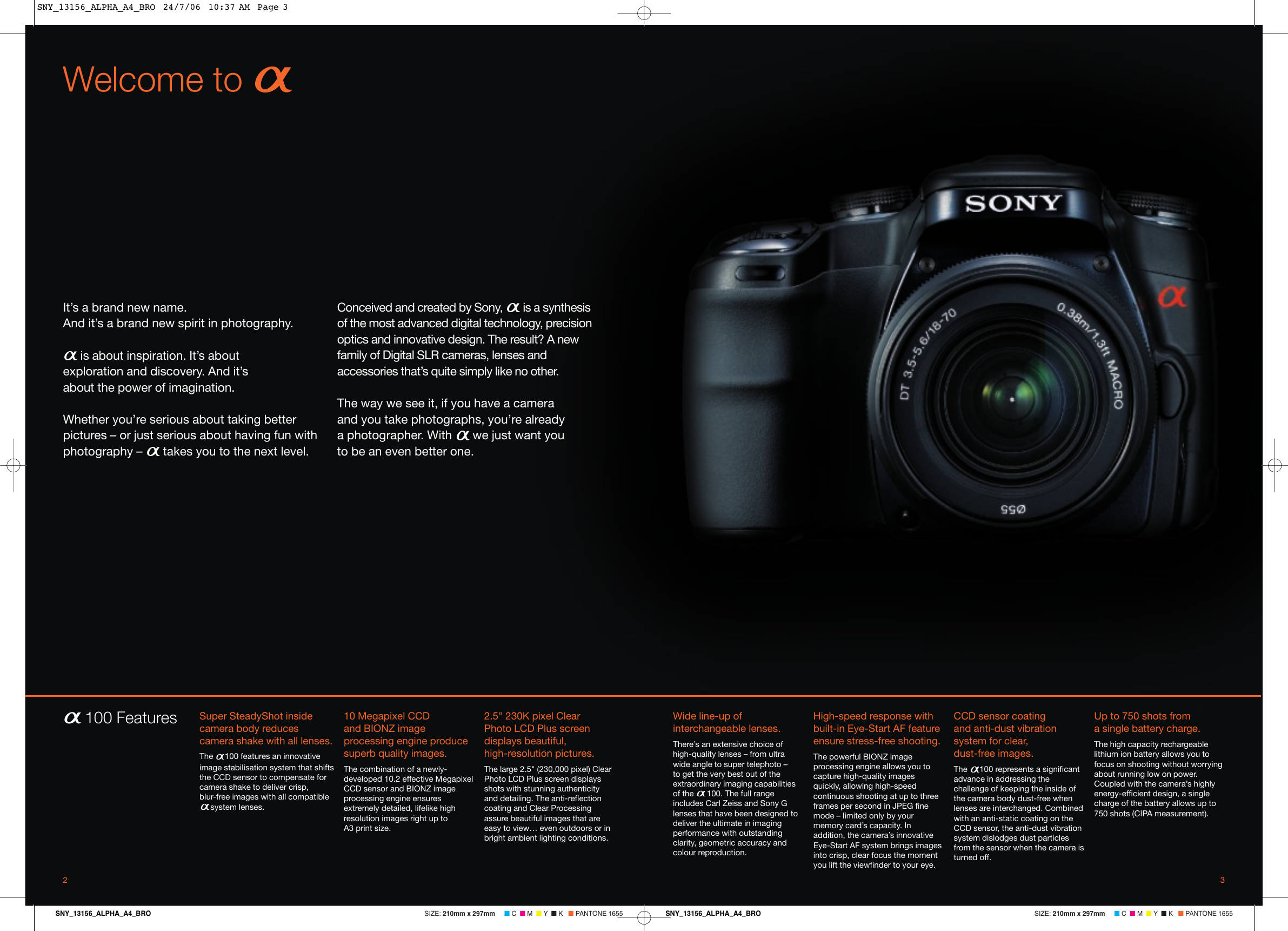 sony alpha 100 users manual sny 13156 alpha a4 bro rh usermanual wiki Sony DSLR Camera Lens sony alpha 100 guide