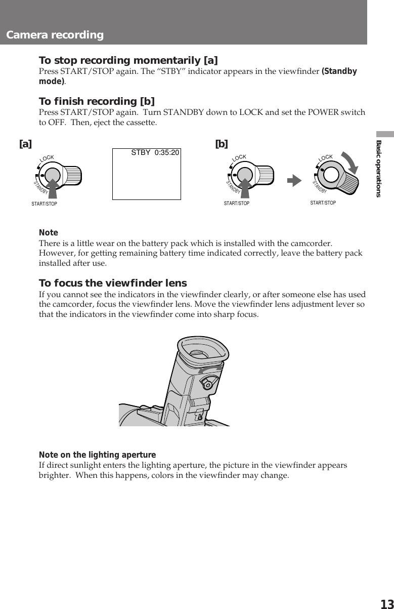 Sony Ccd Trv95 Users Manual TRV95/TRV99