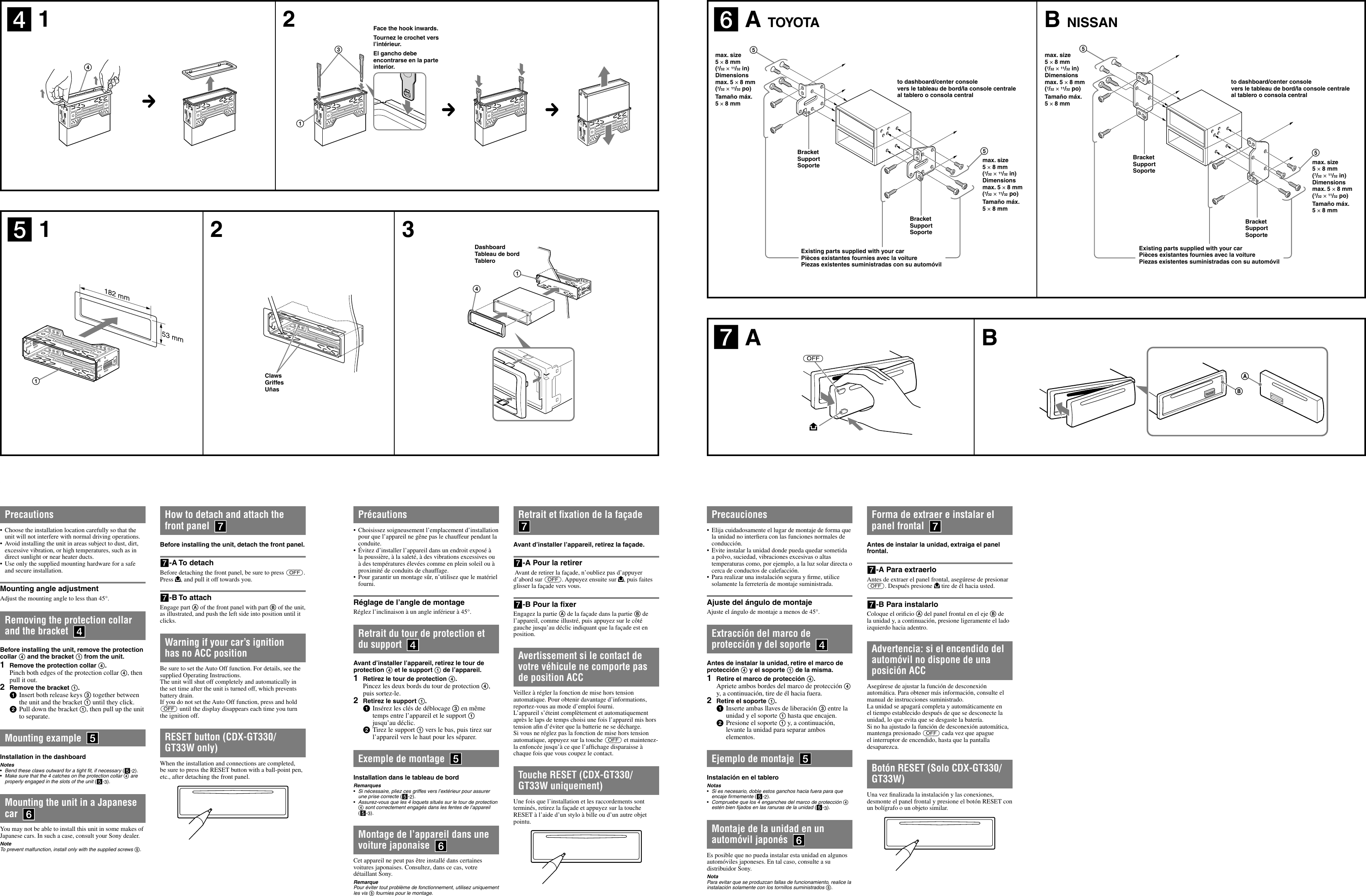 Cdx Gt130 Wiring Diagram Schematics Sony Gt25mpw Installation Connections Manual Gt330 Gt33w Gt230 Basic Electrical Diagrams